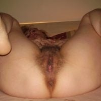 blonde-hairy-wife-shows-cunt