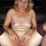 British Slut Wife Opens Large Vagina Hole