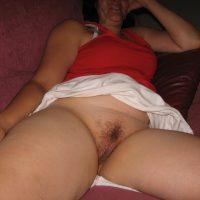brunette milf spreading her legs