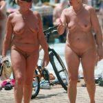 Candid Old Naturist Women