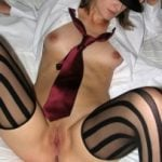 Cool Babe Lingerie Pussy with Tie