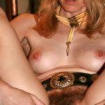 Country Wife Spreading Hairy Vagina
