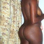 Ebony Woman has Round Booty
