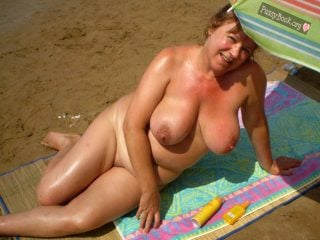 Fat girl beach