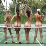 Female Lady Tennis Players Nudes