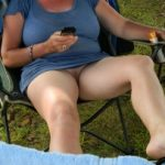 Flashing Pussy Wife Camping