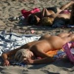 Girl Posing Nudist Girl