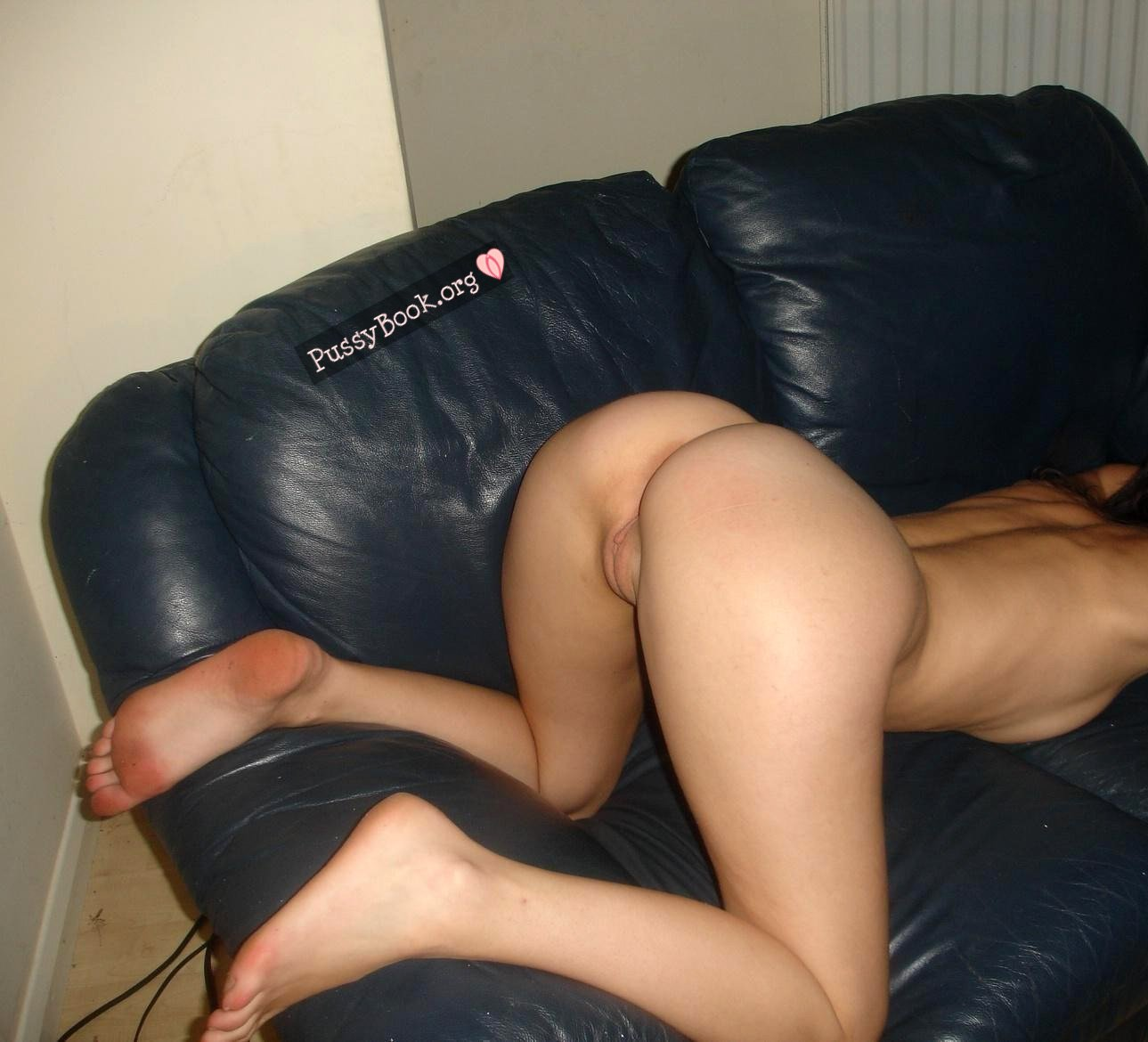 Embarrassed asian girl