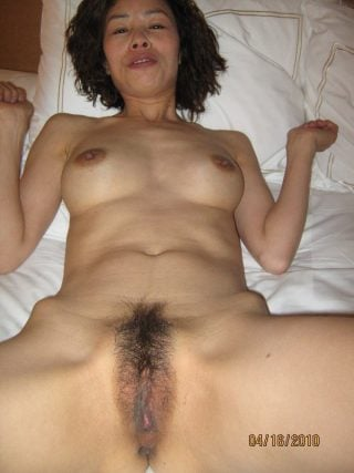 hairy asian wife cunt