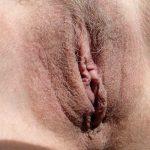 Hairy Matured Australian Cunt Close-Up