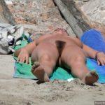 Hairy Nudist Woman Cunt