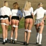 High School Girls Pantiess Off Butts