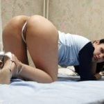 Hot Colombian Girl Ass with Thong