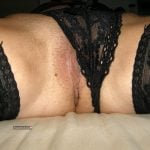 Labia Minora out of Panties