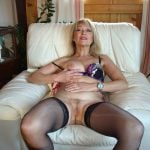 Mature Lady Shows Pussy ready for sex