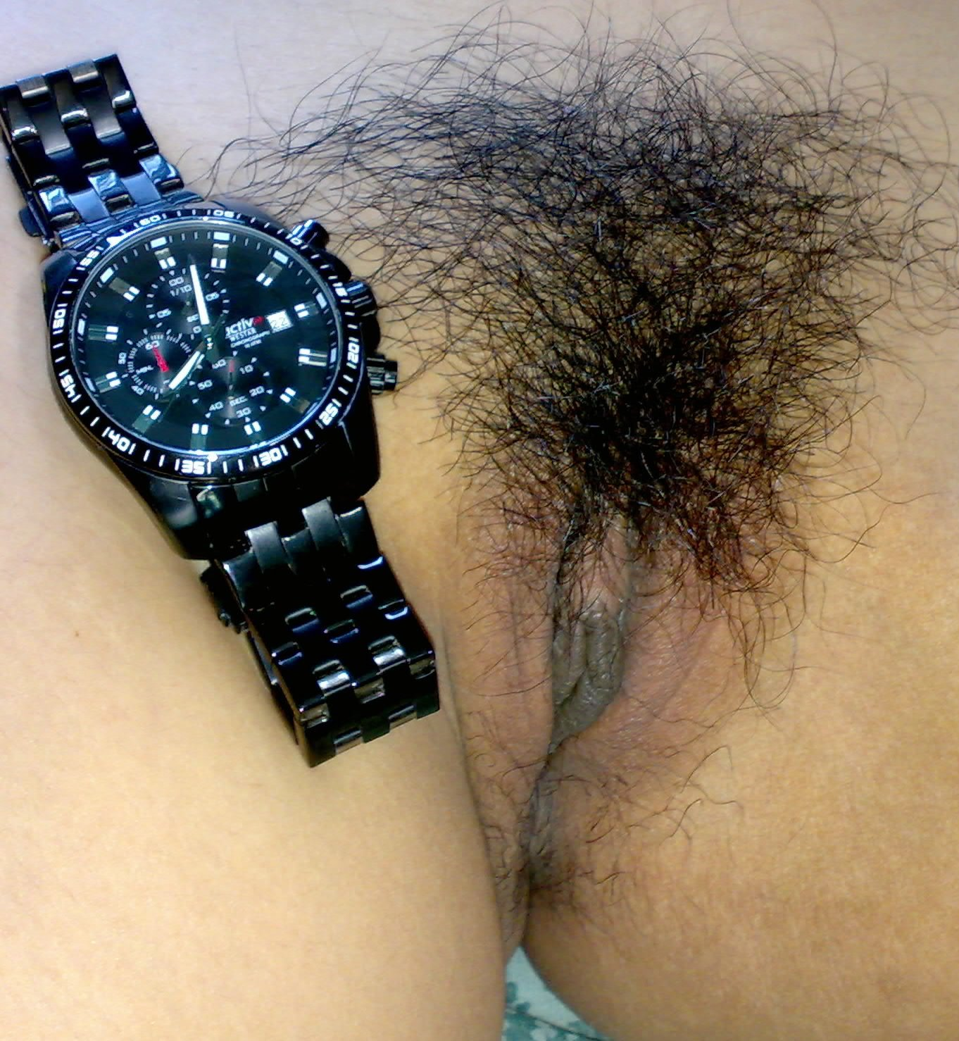 my-wife-hairy-pussy-with-watch