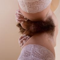 natural pubes hairy from below