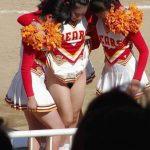 Nude Cheerleader Pussy upskirt