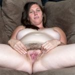 Nude Chubby White Milf Spreading Hairy Vagina