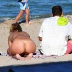Nudist Girl On Nudism Beach