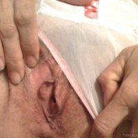 older wife vagina opens