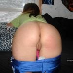 Pants Down Pussy Bent Over