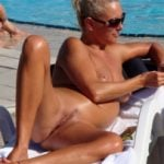 Pregnant Nudist Woman