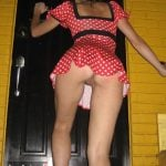 Pretty Girl Dress Upskirt