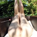 Pretty Legs Up Garden Armchair