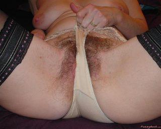 pulling panties of old cunt5