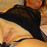 Pulling Panties of Wife's Cunt