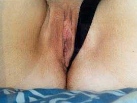 pulling-thong-to-show-her-labia