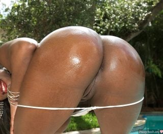 satiny-black-bootylicious-rear-view-pussy