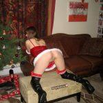 Teen Santa Girl Ass Pussy