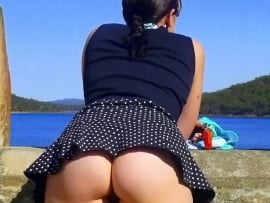 tourist-woman-upskirt-landscape