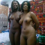 Two Naked Amateur Nigerian Women
