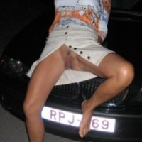 upskirt-cunt-on-bmw-hood