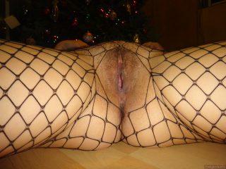 vagina and christmas tree