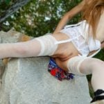Wide Nude Teen Outdoor Quality Pic