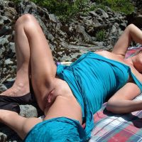 wife-exposing-pussy-on-the-mountain