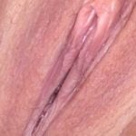 wife's labia and clit hood