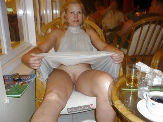woman-lifting-skirt-at-restaurant