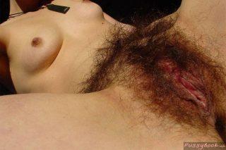 woman with really hairy vagina